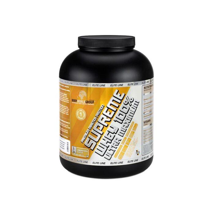 پروتئین وی ۱۰۰٪ پرمیوم مستر سوپریم بادی ورلد