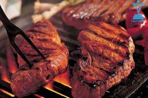 استیک گوشت پروتئینtamrino.ir