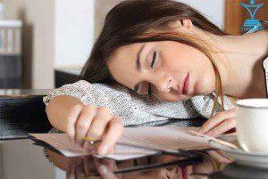 خستگی خواب استراحت tamrino.ir