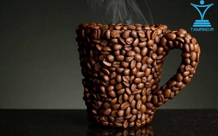 قهوه کافئین tamrino.ir