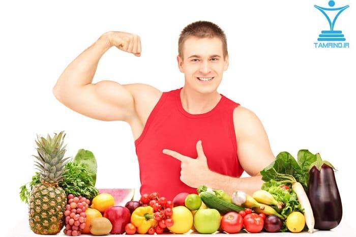 گیاه خواری بدنساز tamrino.ir