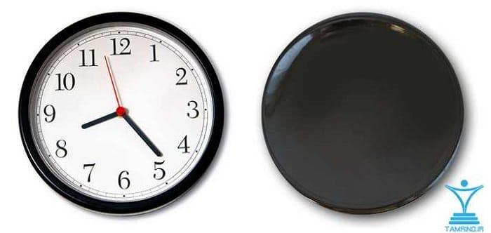 ساعت زمان tamrino.ir