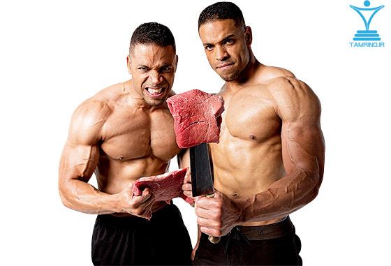 خوردن گوشت