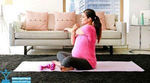 برنامه تمرینی زنان حامله