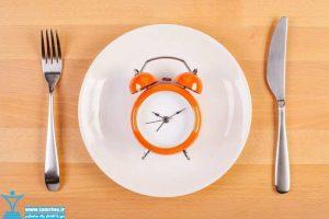 زمان بندی مصرف پروتئین