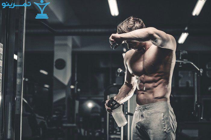 زمان ساخت عضله