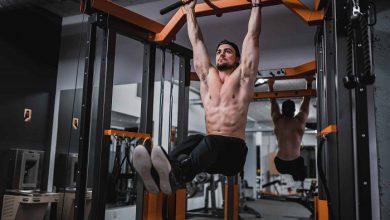 تعداد حرکت به ازای هر گروه عضلانی